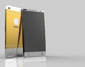 3D model oppo mobile phone