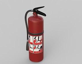 Fire Extinguisher PBR 3D model
