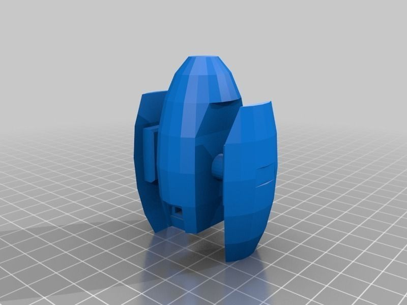 Snap 4 Sport >> Portal Turret snap-in legs free 3D Model 3D printable STL - CGTrader.com