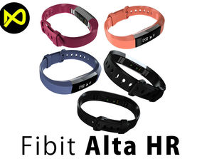 Fitbit Alta HR All Colors 3D