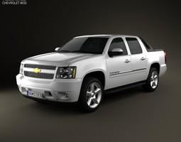 3D Chevrolet Avalanche 2011