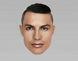Cristiano Ronaldo player 3D model