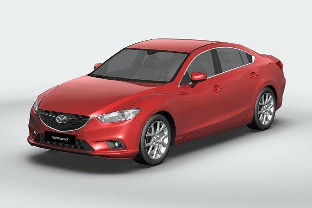 3D model 2013 Mazda 6 Sedan | CGTrader