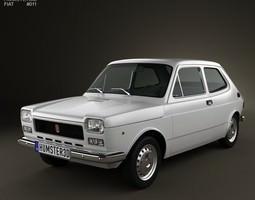 Fiat 127 1975 3D