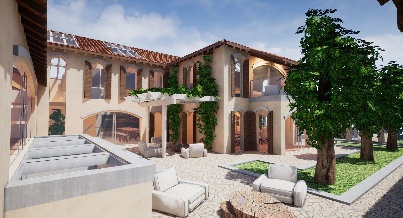 Spanish Modern Modular Villa Assets - Complete kit