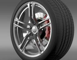 Audi R8 GT wheel 3D