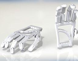 animatronic hand 3d printable model
