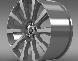 3D model RangeRover Supercharged rim