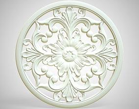 Engraving no5 3D asset
