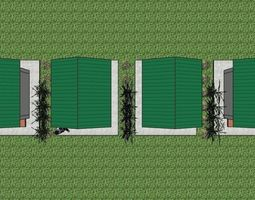 Public Toilet or Restroom 3D