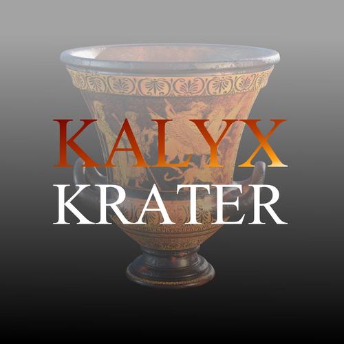 kalyx krater 3d model obj mtl 3ds fbx blend dae 1