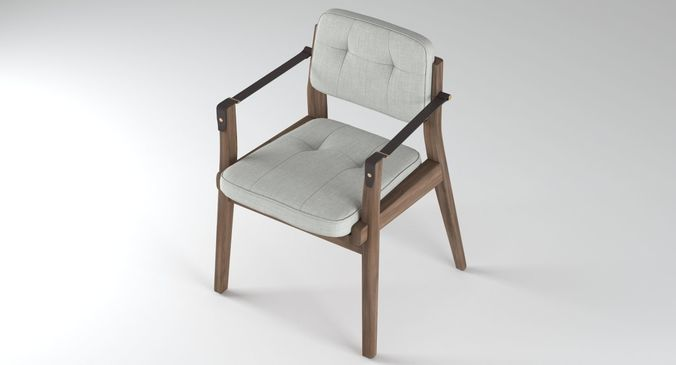 ... Capo Dining Chair Neri And Hu 3d Model Max Obj Fbx Mtl Mat 2 ...