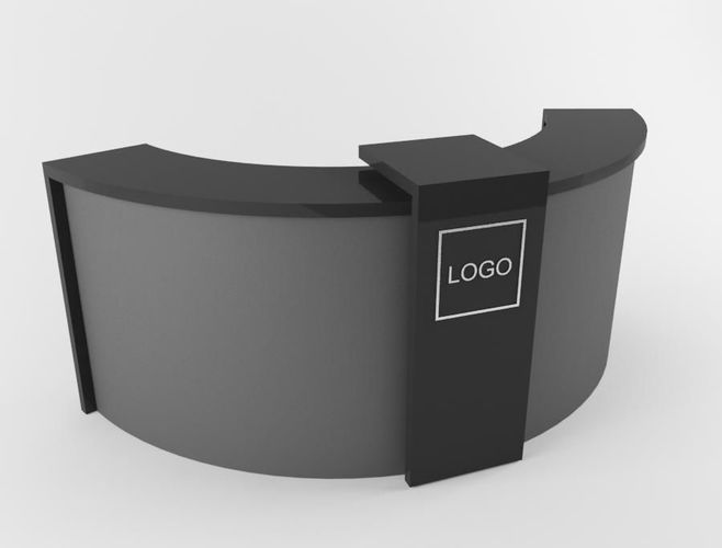 Receptionist Table 3D Model