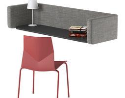 3D FourUs Wall Pod Chair