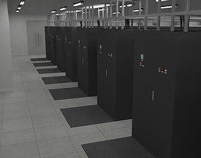 3D Internet Data Center Room