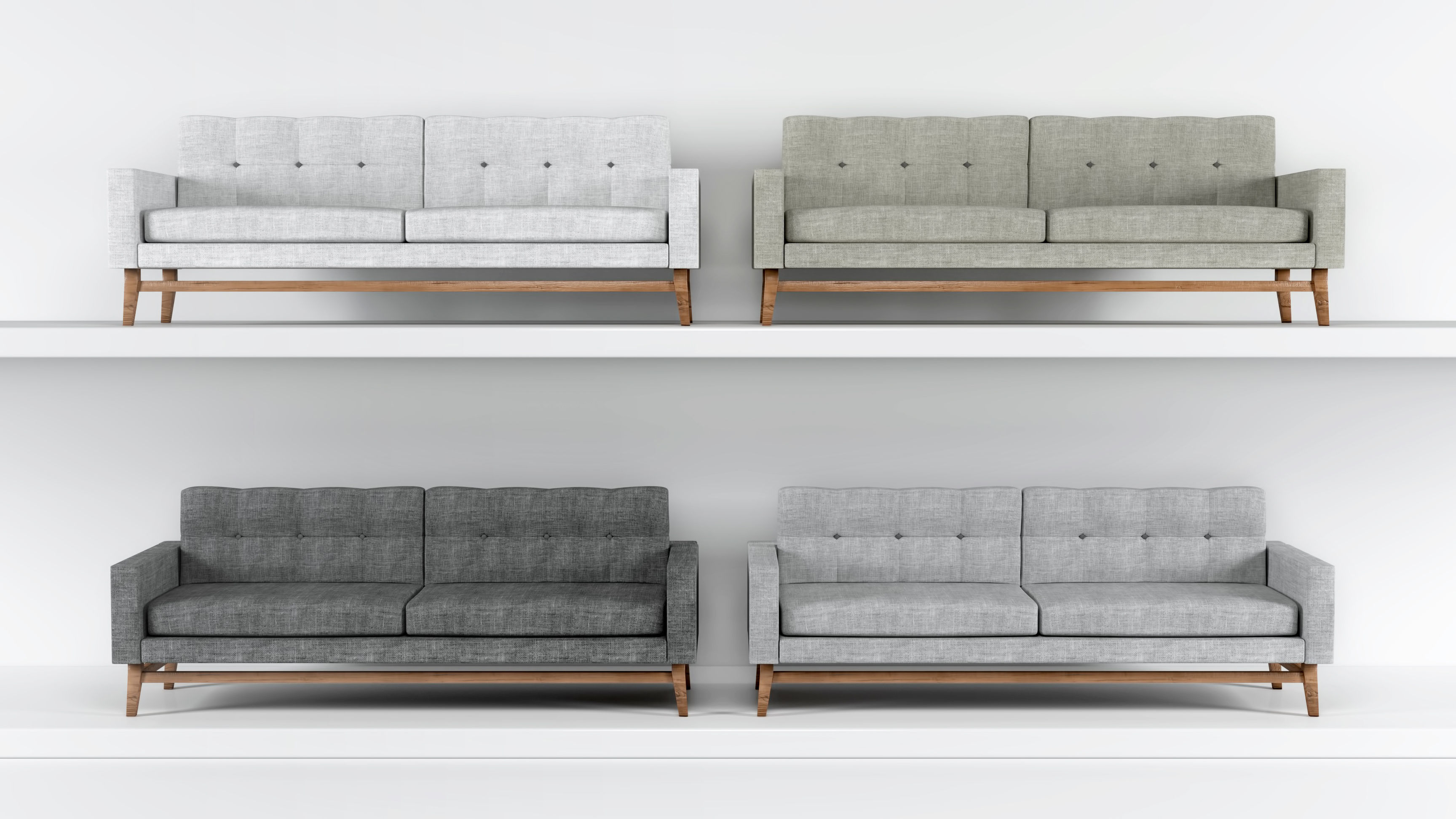 3D model Modern Sofa Collection
