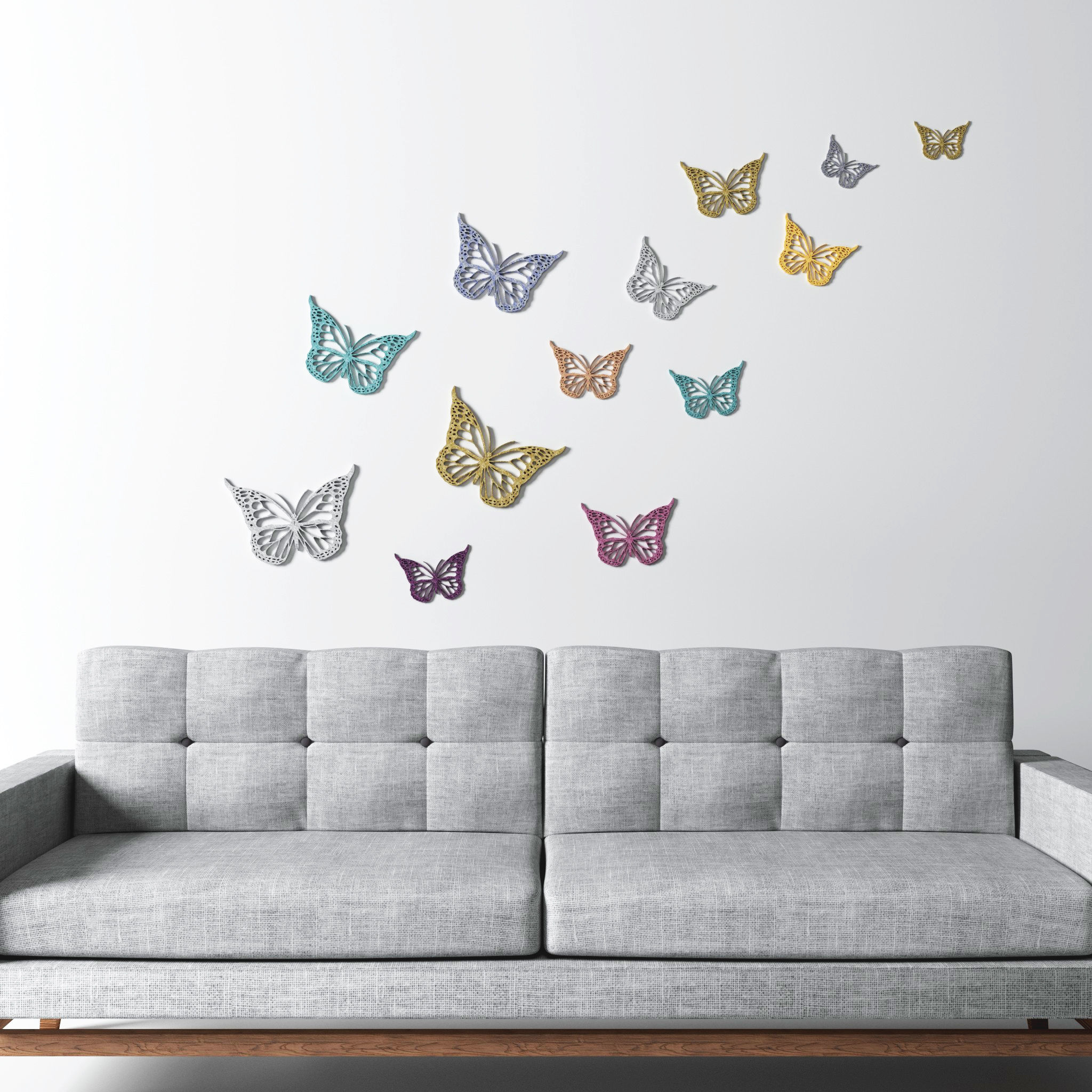 Butterfly Wall decoration Wall art 3D