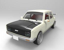 Fiat 128 1981 3D model