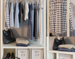 HEMNES open wardrobe 3D