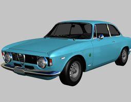 3D asset Alfa Romeo Giulia Sprint GTA Stradale