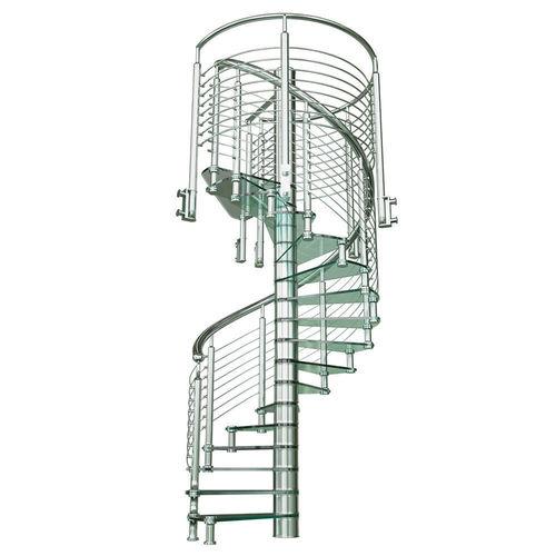 staircase sciria clarit 3d model max obj mtl fbx mat 1