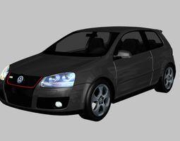 Volkswagen Golf GTI MkV 3D model