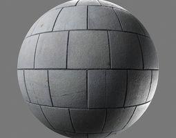 Running bond pavement 3D model