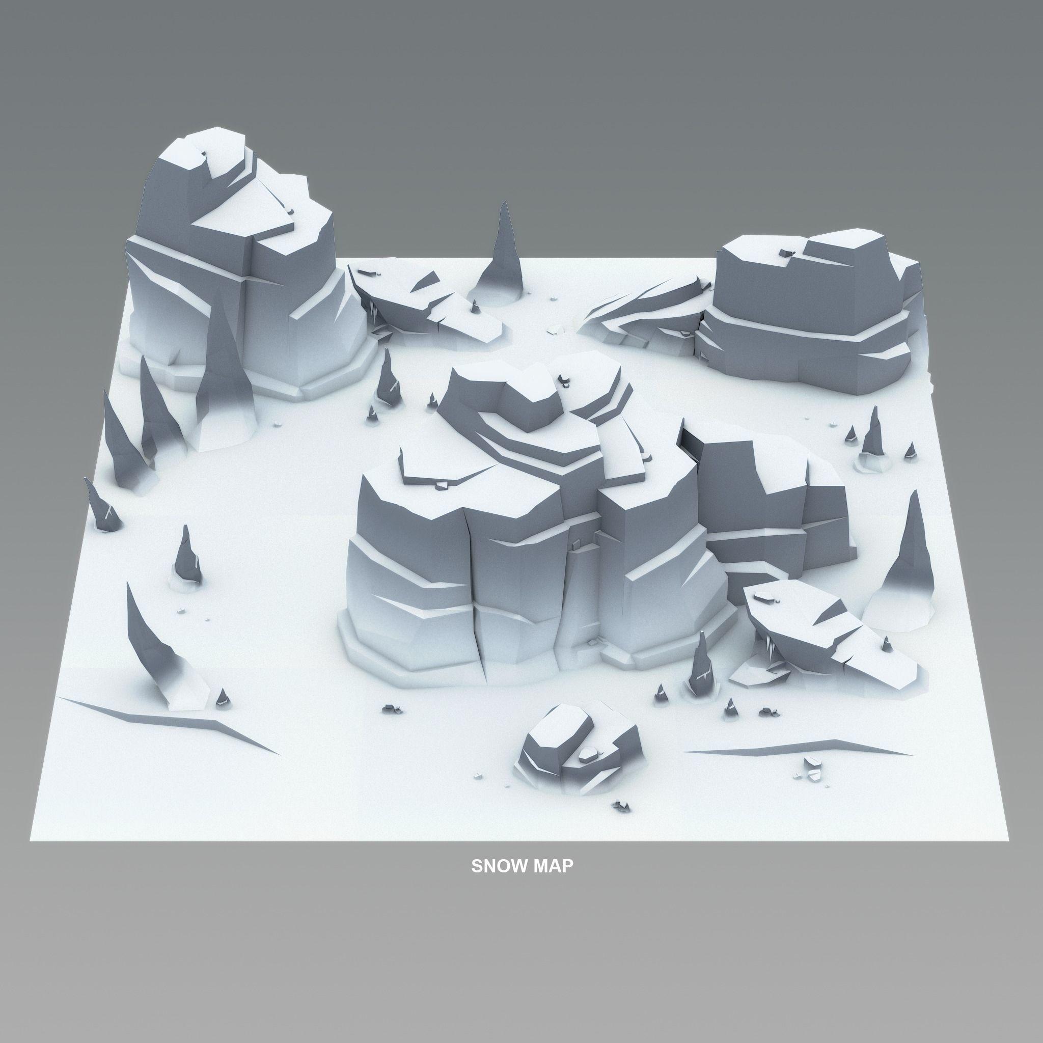 Cartoon Cliffs