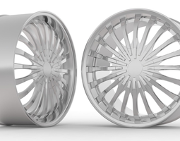 Kazino Wheel 3D model