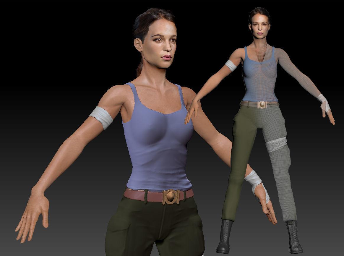 News: Next Tomb Raider Model Photos Unveiled | MegaGames