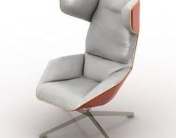 Modern armchair18 3D