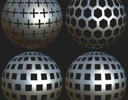 3D PBR Textureset Vol 01