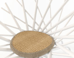 nest chair 3D