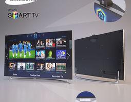 samsung tv 3D model interior