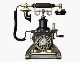 Eiffel Tower 1892 reproduction phone 3D asset