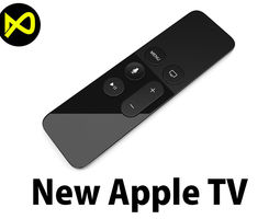 3D model New Apple TV Remote