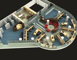 workshop 3D model Office