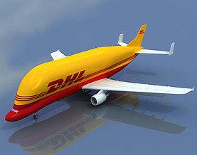 3D model DHL Large Airbus