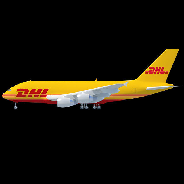 DHL Textured Airbus