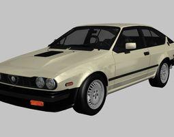 Alfa Romeo GTV-6 3D asset