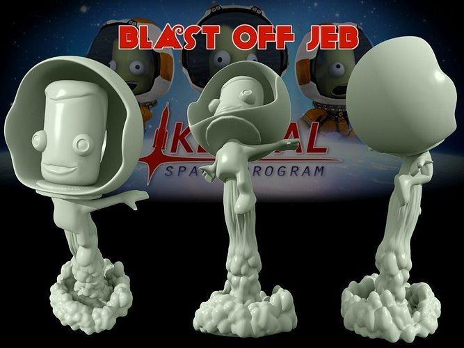 Blast Off Jeb Free 3D print model