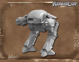 ED-209 Improved 3D printable model