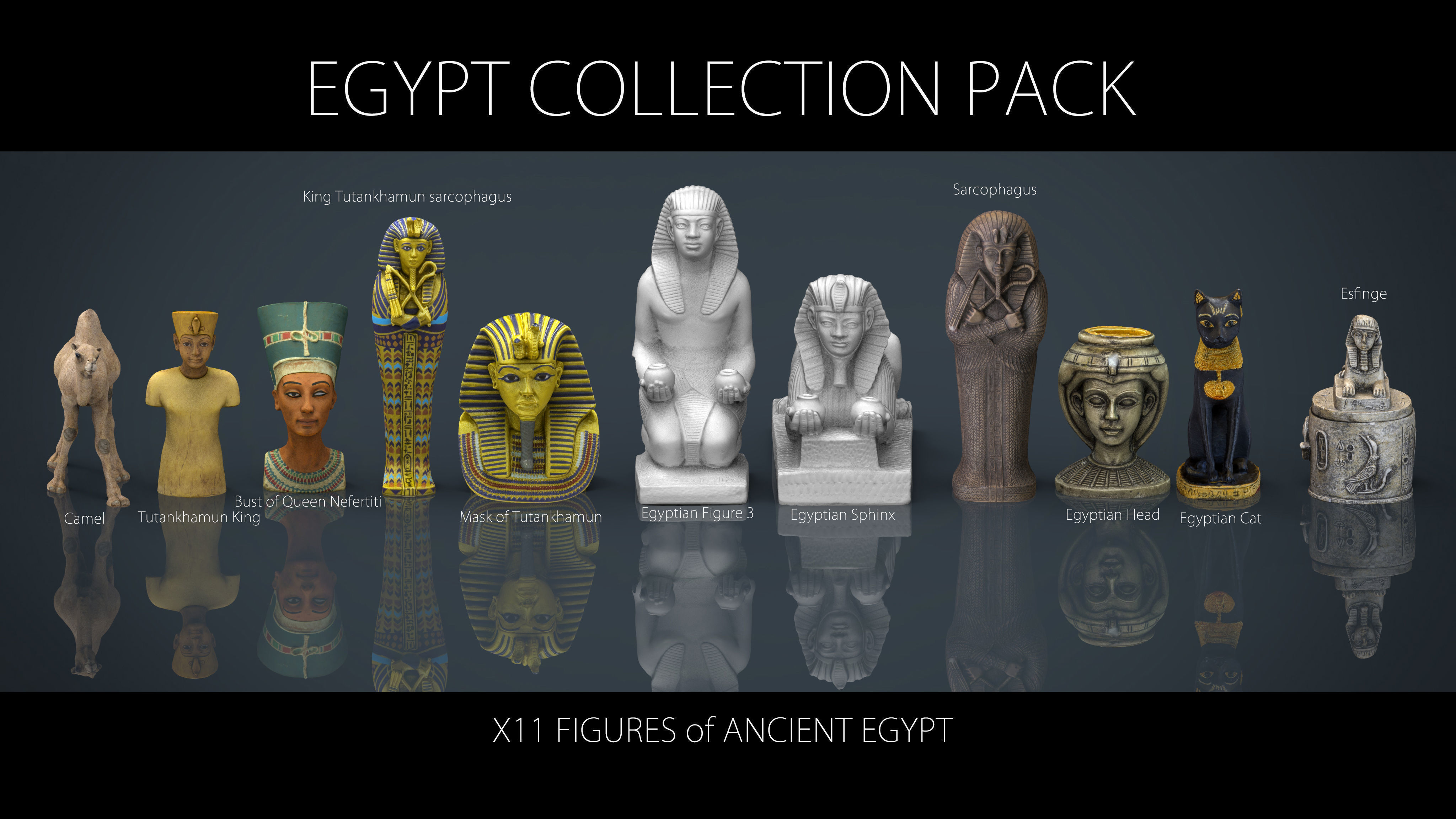 EGYPT COLLECTION PACK