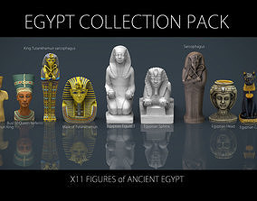 3D model EGYPT COLLECTION PACK