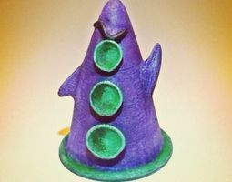 3D print model Purple Tentacle Hi Res 17mb