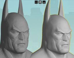 Batman Bust - clean re-build Hi-Res 3D printable model