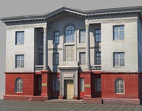 3D model Classic building facade 04