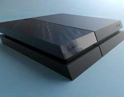 PS4 Raspberry Pi case 3D printable model