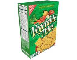Nabisco Flavor Originals Vegetable Thins Baked 3D model 1