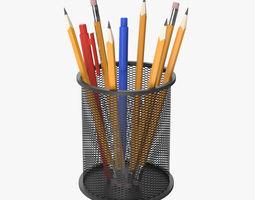 Pencil Holder pen 3D